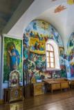 Роспись восточной стены притвора Страшный суд