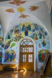 Роспись южной стены привора Второе Пришествие Спасителя