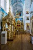 Покровский собор северный придел в честь преподобной Зосимы Эннатской