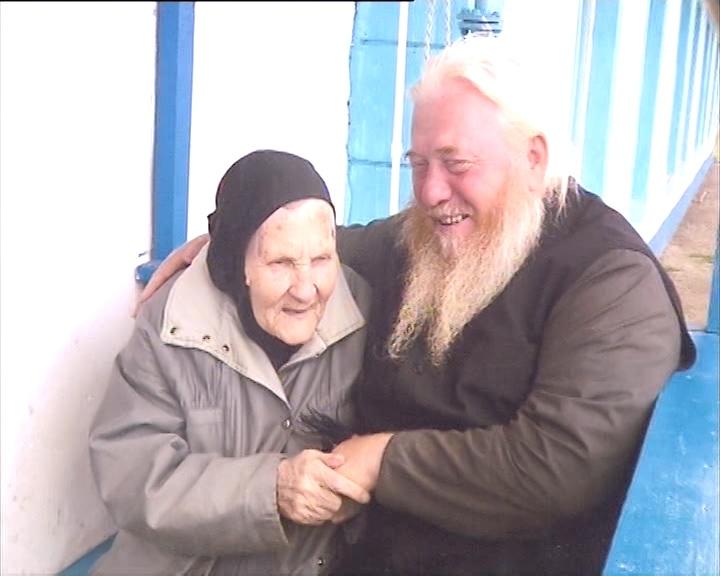 Архимандрит Николай и схимонахиня Рафаила в Покровском мужском монастыре
