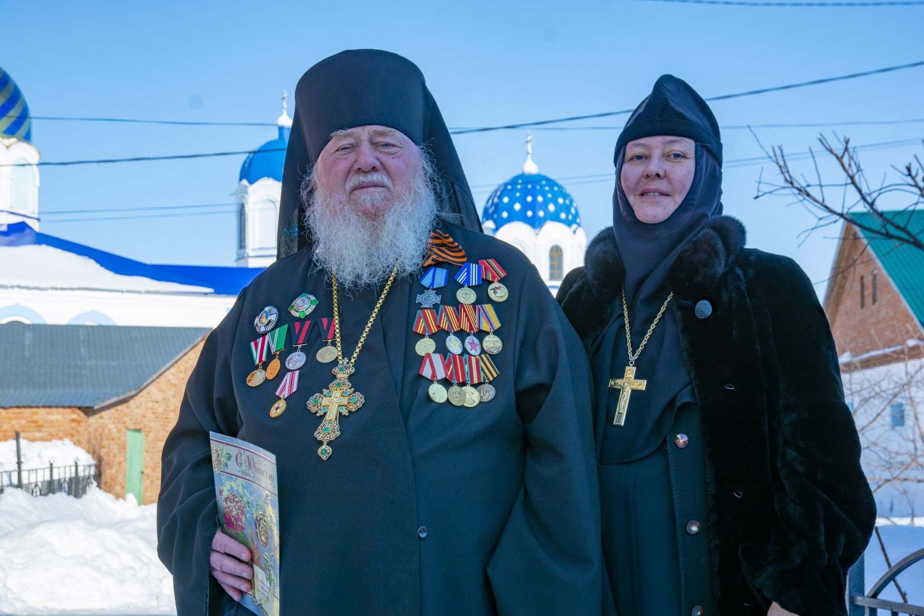 Архимандрит Николай и игуменья Моисея