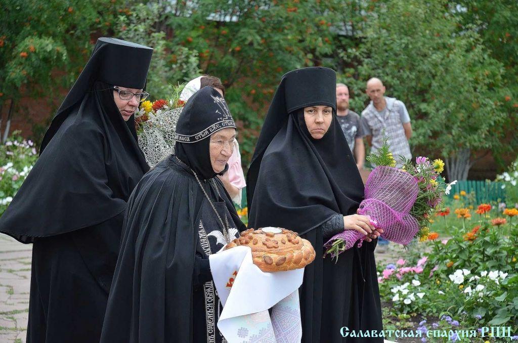 Схиигуменья Серафима с сестрами