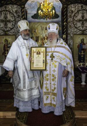 22 февраля 2020 г наместнику Покровского монастыря, архимандриту Николаю (Чернышеву) исполнилось 70 лет.