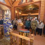 Владыка Николай совершил Божественную литургию и панихиду в нашем храме
