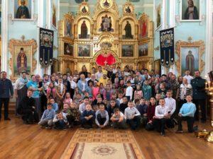 В Салаватской епархии проходит VI ежегодный открытый слет воспитанников епархиальных воскресных школ «Дети Небесного града»